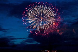 Festival Kembang Api Di Sapporo