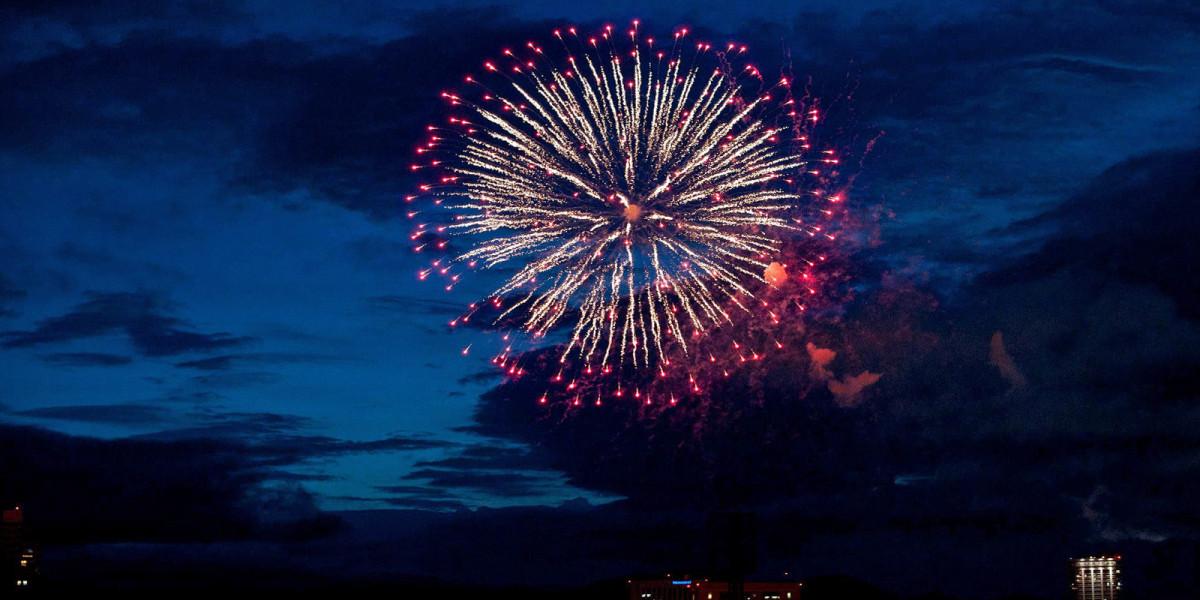 Fireworks festivals held in Sapporo
