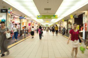 Pusat Belanja Bawah Tanah Sapporo (Pole Town dan Aurora Town)