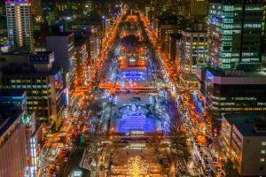 さっぽろホワイトイルミネーション特別企画 札幌市内おすすめモデルコース&スタンプラリー