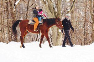 定山渓で冬アクティビティを満喫