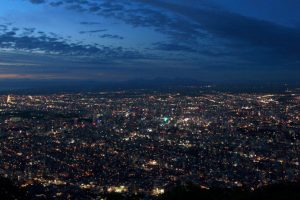 日本新三大夜景を思い出に!