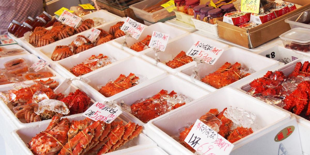 Pasar Nijo dan Pasar Pinggir Jalan Sapporo