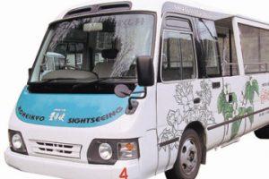 ハイブリッド電気バス