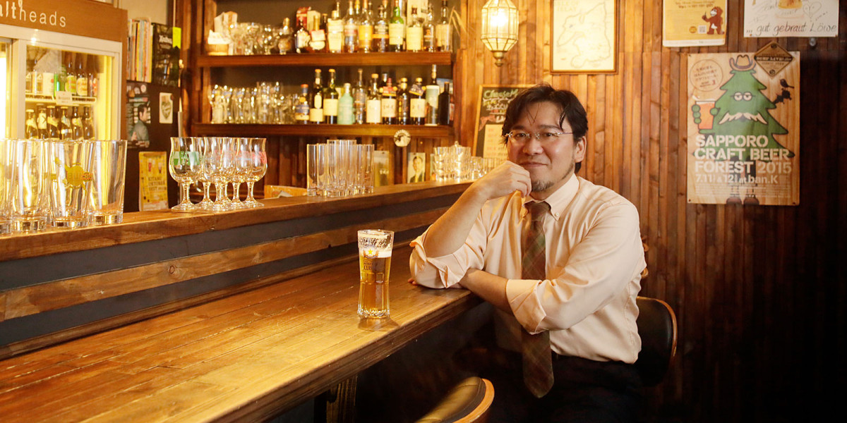 Craft beer is now a major draw of Sapporo tourism—Mr. Kikuo Sakamaki, member of the Sapporo Craft Beer Forest Executive Committee