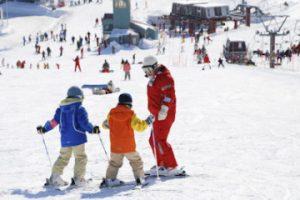初めてのスキー体験