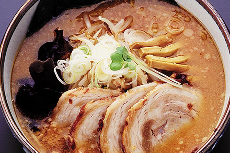 札幌×味噌ラーメン_麺処 白樺山荘